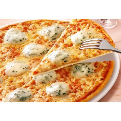 [7] Quattro Cheese pizza